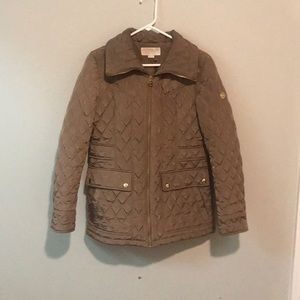 Michael Kors Diamond Quilted Puffer Jacket